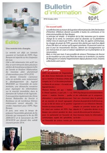 Newsletter EPFL Pays Basque